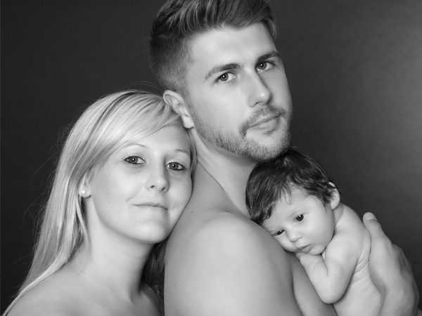 Family Photoshoot with Baby